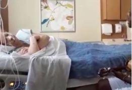 Internada, Beth Carvalho tem visitas reduzidas: 'Repouso é o melhor benefício' – VEJA VÍDEO