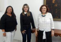 Primeira-dama do Estado é recebida pela presidente do Cendac