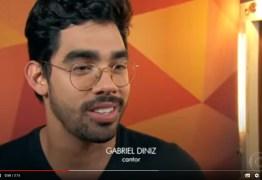 """Gabriel Diniz fala sobre o sucesso """"Jenifer' no Fantástico: VEJA VÍDEO"""