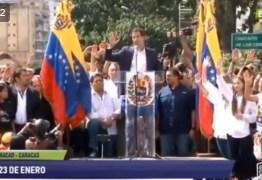 VEJA VÍDEO: Líder opositor da Venezuela se declara presidente interino e é reconhecido pelos EUA