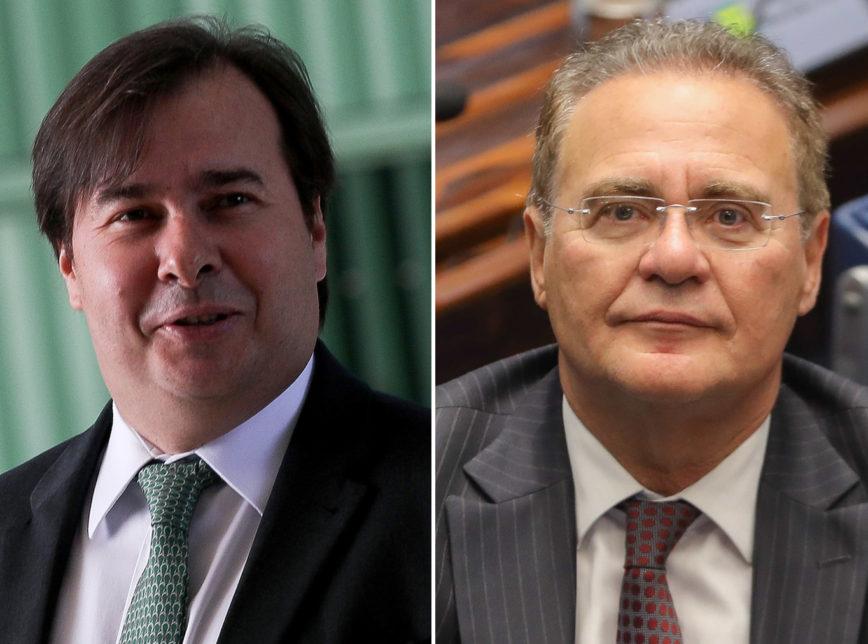 Maia Renan 868x644 - Conheça os candidatos a presidente da Câmara e do Senado; disputa é na sexta-feira