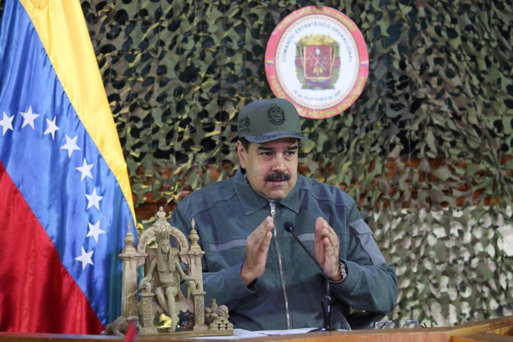 Nicolás Maduro 1024x682 - EUA ameaçam enviar Nicolás Maduro à prisão de Guantánamo