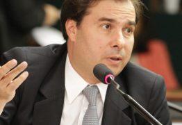 Rodrigo Maia chega à Paraíba em campanha pela reeleição