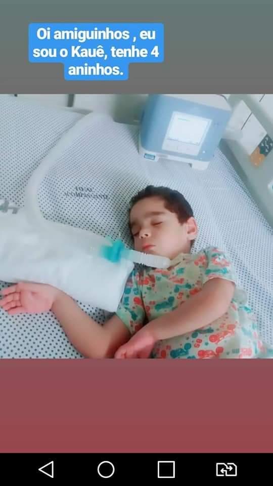 WhatsApp Image 2019 01 05 at 15.30.04 - LUTA PELA VIDA: família de Alagoa Grande pede ajuda para comprar equipamento para criança com doença rara