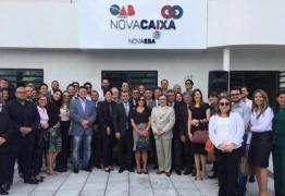 OAB-PB inaugura sede da Nova Caixa de Assistência dos Advogados em CG, marcada por grande entusiasmo