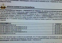 Diário da Justiça traz reajuste para juízes e desembargadores na Paraíba