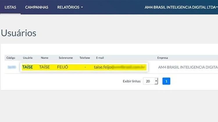 am4 iii 1547759463697 v2 750x421 - Funcionária que disparou WhatsApp para Bolsonaro ganha cargo no Planalto