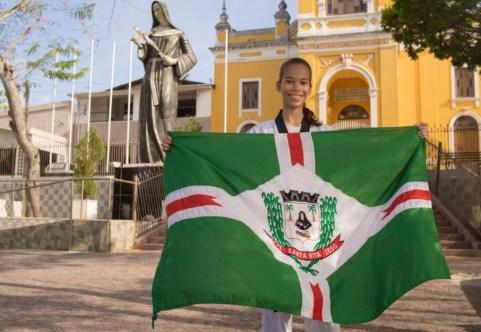 atleta 300x207 - Atleta de Santa Rita é escolhida melhor atleta do Brasil de taekwondo