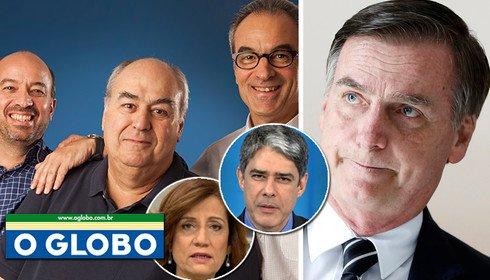 bolsonaro e Globo - Globo quer derrubar Bolsonaro antes que Bolsonaro derrube Globo - Por Alex Solnik