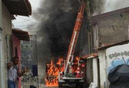 Coquetel molotov e jornalistas ameaçados no 7º dia de ataques no Ceará