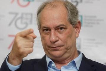 ciro gomes - Ciro: Lula não tem nada de inocente, é inconfiável e tenta enganar o povo