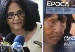 Revista Época acusa ministra Damares de sequestro e tráfico de crianças indígenas