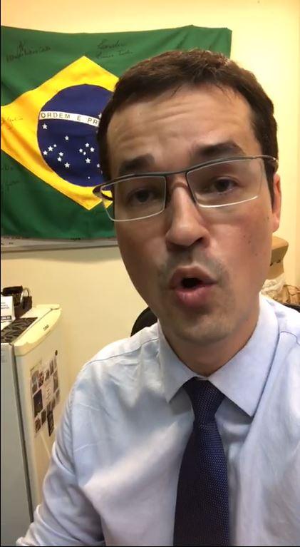 deltan dallagnol - VEJA VÍDEO: 'O teu trabalho não terminou na urnas', afirma Deltan Dallagnol em vídeo sobre eleições para chefia das casas legislativas