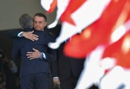ACORDOS BILATERAIS: Macri é recebido no Planalto por Bolsonaro