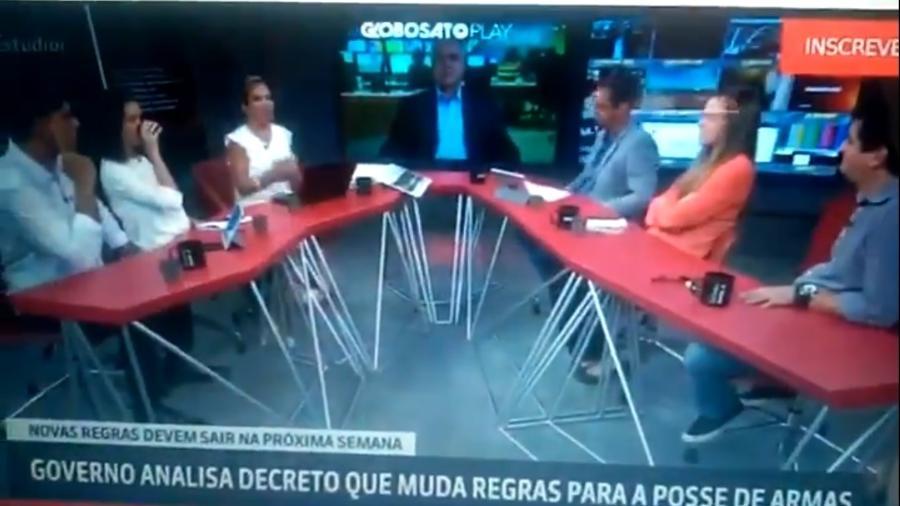 estudio i - 'Gemidão do Zap' interrompe programa da Globonews
