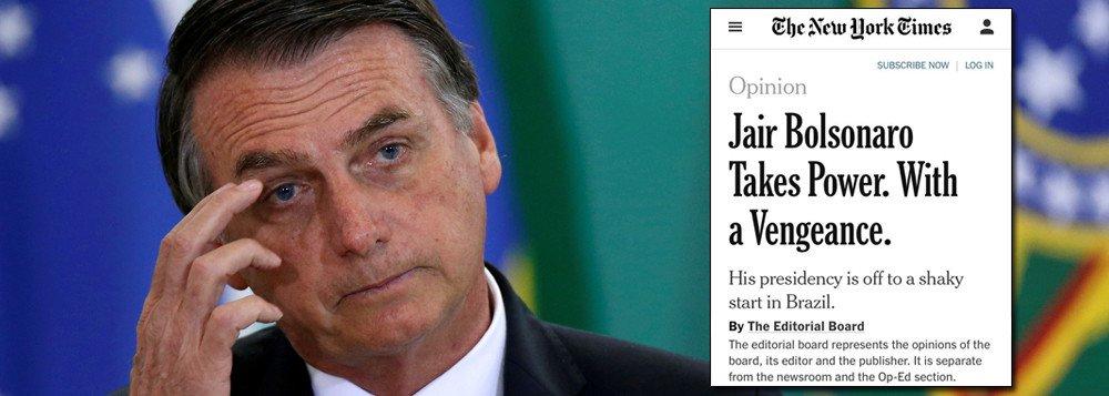 images cms image 000616801 - New York Times detona Bolsonaro e prevê: Brasil terá um ano fatídico
