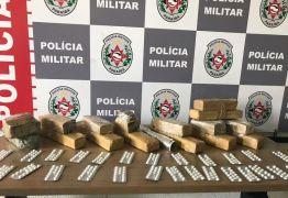Polícia apreende drogas enterradas em mata no bairro de Cruz das Armas