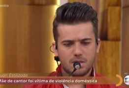 VEJA VÍDEO: Luan Estilizado revela no Encontro que padrasto matou a sua mãe na noite de São João