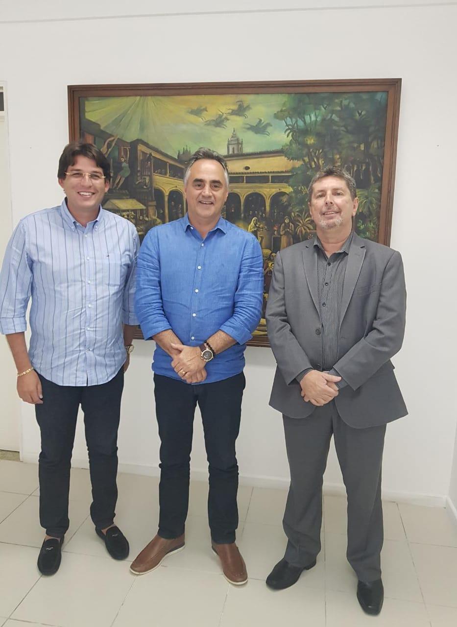 luciano cartaxo e aliados - Base governista da CMJP cresce após Humberto Pontes declarar apoio a Luciano Cartaxo
