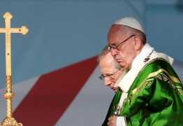 Papa Francisco reza por vítimas da tragédia em Brumadinho