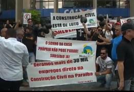 """Consumo interno: construtores protestam contra """"fim"""" do Minha Casa, Minha Vida; vá atrás que foram a favor do impeachment e votaram e Bolsonaro"""