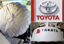 """Toyota chama quase 380 mil carros para novo recall de """"airbags fatais"""""""