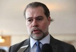 Dias Toffoli muda voto no STF e estende foro privilegiado para deputados estaduais