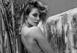 Solteira, Paolla Oliveira posa de topless