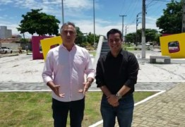 Luciano Cartaxo e Helton Renê confirmam entrega da Praça do Geisel – VEJA VÍDEO
