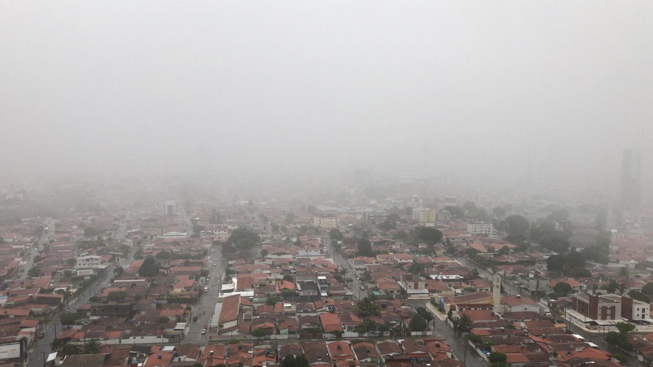 681fbffb 62f9 496b b710 aed7a967a3c0 - Fortes chuvas, relâmpagos e trovoadas são registrados na manhã desta quarta-feira na Paraíba; Veja a previsão