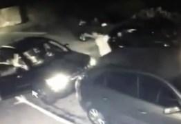 Câmeras flagram bandidos suspeitos de realizar arrastões na Zona Leste de JP – VEJA VÍDEO