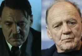 Morre o ator Bruno Ganz, que interpretou Adolf Hitler no filme 'A Queda'