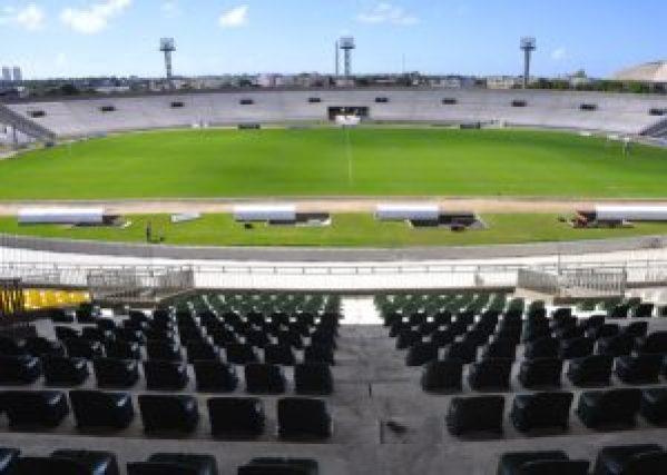 Estádio Almeidão 696x497 1 300x214 - Botafogo-PB encara o CSP neste sábado para se manter 100% no Paraibano