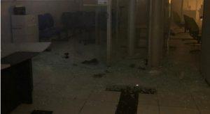 Explosão BB  SJRPeixe 1 300x164 - MADRUGADA DE TERROR: Bandidos explodem banco no Sertão da PB