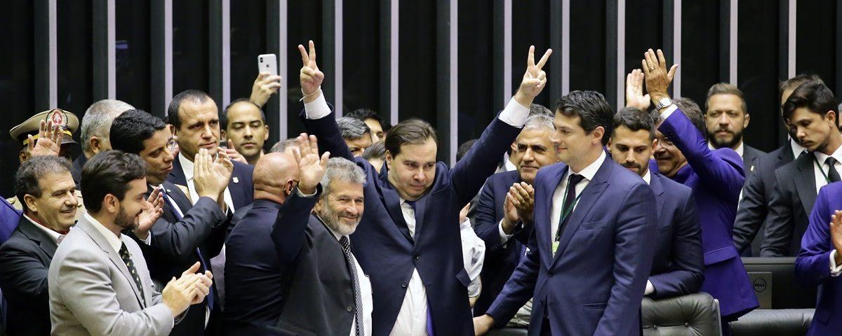Rodrigo Maia 1200x480 - Rodrigo, reeleito, promete fazer avançar agenda econômica na Câmara