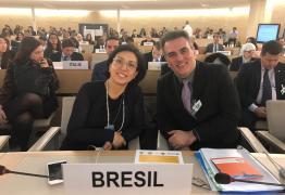 DIREITOS HUMANOS: discursando em inglês, Sérgio Queiroz lembra execuções de Marille Franco e Juliane Santos, na ONU; VEJA VÍDEO