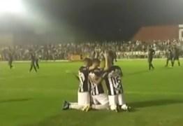 No Amigão, Serrano e Perilima ficam no empate em jogo de quatro gols