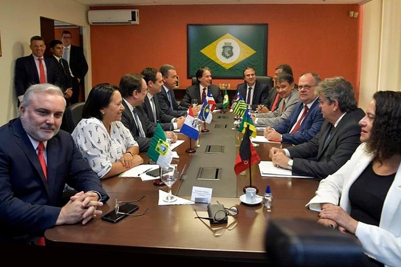 WhatsApp Image 2018 11 21 at 15.33.12 - Em Brasília, João Azevedo participa de encontro dos governadores do NE
