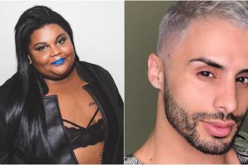 Agustin Fernandes e Mc Carol discutem na internet, após maquiador criar projeto social
