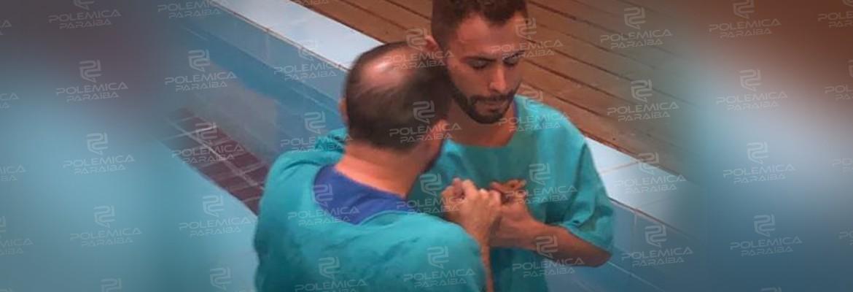 agustin fernandes - Maquiador Agustin Fernandez se batiza em igreja evangélica, 'Simplesmente me reconheci'