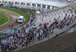 Almeidão passa por vistoria e pode ter arquibancada interditada, após incidente com torcedor