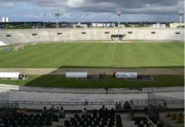 Arquibancada sombra do estádio Almeidão é interditada pelo Ministério Público
