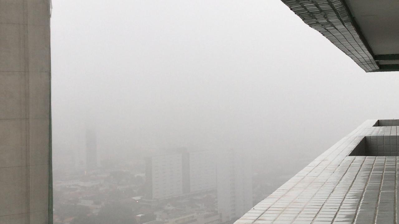 bairro dos estados - Fortes chuvas, relâmpagos e trovoadas são registrados na manhã desta quarta-feira na Paraíba; Veja a previsão