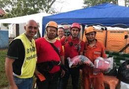 Evangélicos montam lavanderia 24h para limpar fardas dos bombeiros em Brumadinho