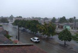 TOP 10 DA CHUVA: A cidade de Mari é a recordista com mais de 90mm de chuva nessa quarta