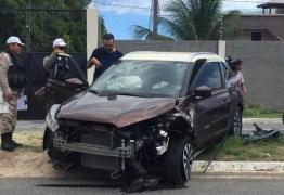 Deputada Estela Bezerra sofre acidente de carro na Capital