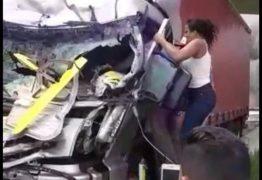Boechat: enquanto uma heroína tenta salvar pessoas, outros filmam tragédia – Nina Lemos