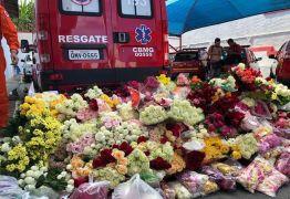Agentes fazem homenagem às vítimas da barragem de Brumadinho durante celebração religiosa