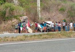 COLISÃO: Acidente envolvendo uma caminhonete deixa cinco pessoas feridas na Paraíba