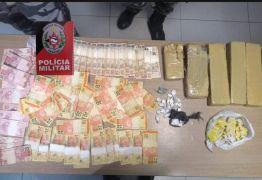 Suspeito de tráfico de drogas é preso em João Pessoa